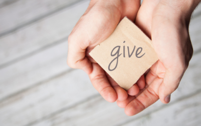 Finding the giving in the doing